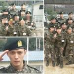 JYJ ジェジュン、訓練兵たちとの集合写真が話題!