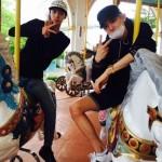 "EXO チャンヨル&セフン、日本の遊園地""富士急ハイランド""を満喫!圧倒的なビジュアルに視線集中"