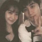 """女優ユ・ソヨン、ホ・ヨンセン(SS501)の除隊パーティーに出席""""仲良くツーショット"""""""