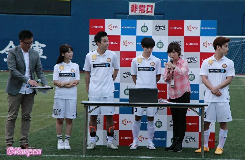FIGHTING HERO FCMEN JAPAN チャリティーマッチ