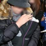 子供のDNA検査を受けにソウル大病院に姿を見せたキム・ヒョンジュン(リダ)の元恋人と家族