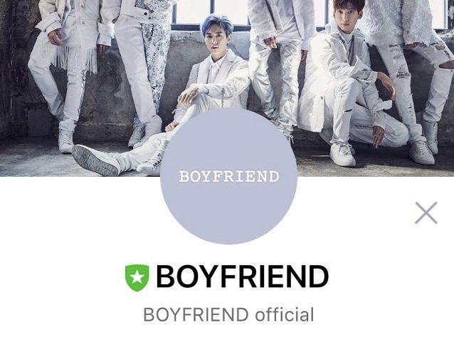 【BOYFRIEND】本日、LINE公式アカウントOPEN!! 友達登録すると・・・・・。