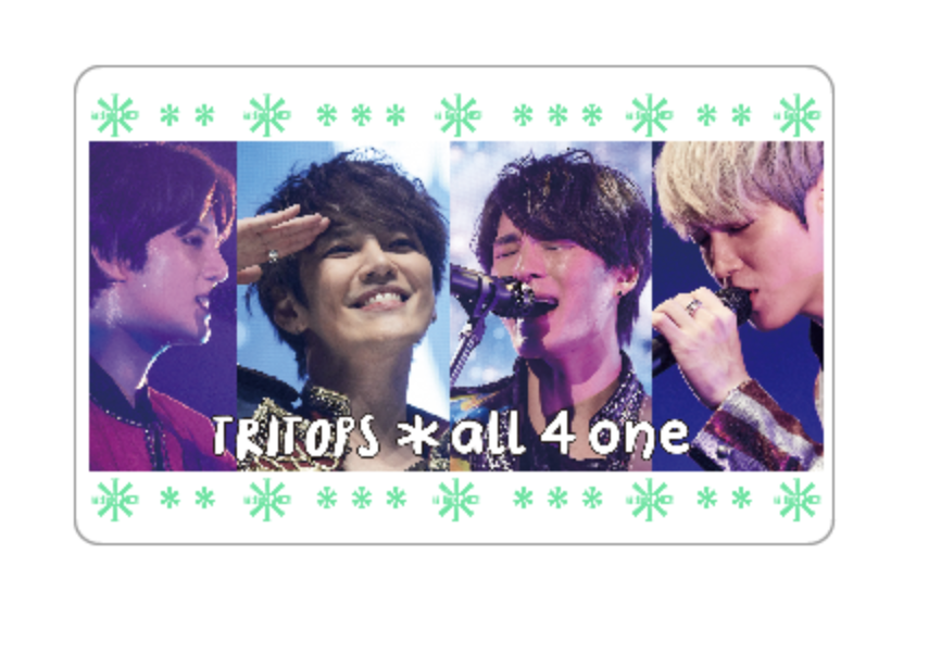 TRITOPS_all 4 one_MUSIC CARD
