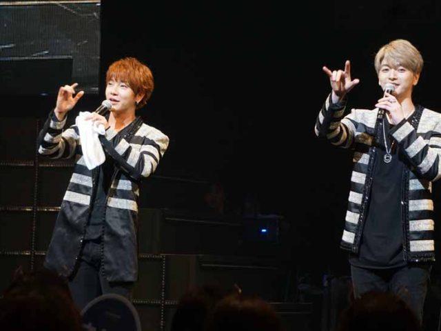 【オフィシャルレポ】 ~ユナク&ソンジェ from 超新星~全国ツアースタート! 最新ミニアルバムからの楽曲披露でファンを魅了