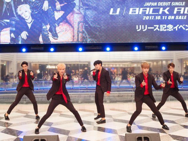 【イベントレポ】~KNK(クナクン)~ 実力、ビジュアル・・・全てを兼ね備えた最強の5人がついに10月11日、日本デビュー! 発売日前日、リリースイベント開催。