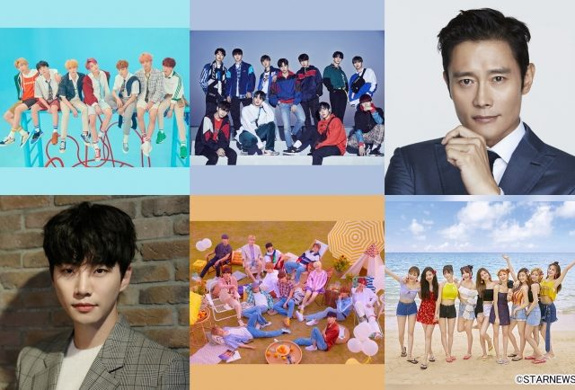 【「2018 Asia Artist Awards」】日テレプラスで11月28日(水)生中継!