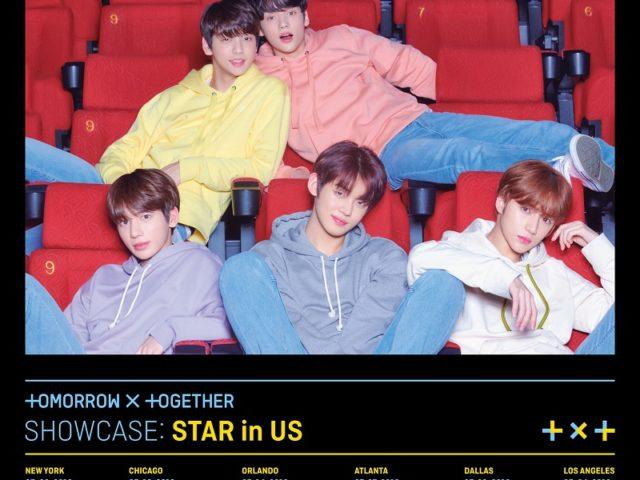 【TOMORROW X TOGETHER】 デビュー2か月で初海外ショーケース! ニューヨークを皮切りにアメリカ6都市で 'TOMORROW X TOGETHER SHOWCASE: STAR in US'開催決定!