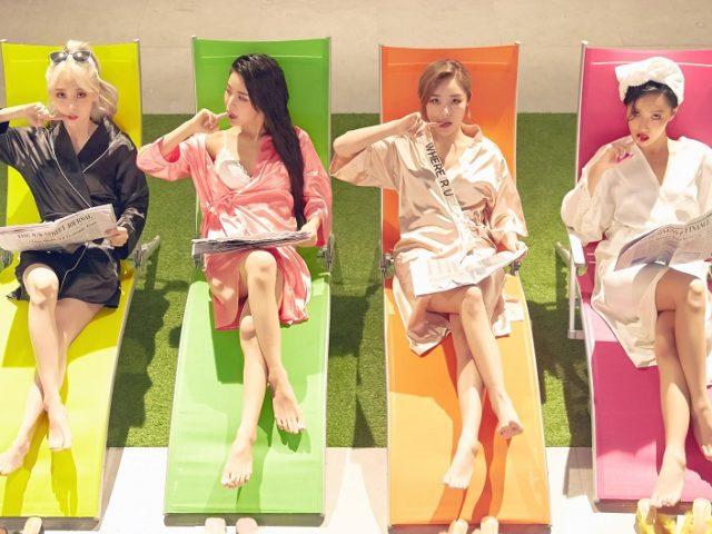【MAMAMOO(ママム)】8月に日本1stアルバム 『4colors』発売&リリースイベントも実施! 名曲「涙そうそう」日本語カバーも収録!