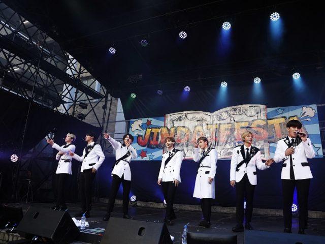 【オフィシャルレポ】~ATEEZ~ 初の日本学園祭で力強いパフォーマンスを披露! 世界を席巻するグループATEEZ(エイティーズ) 2019年12月 日本デビューが決定!!